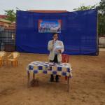 Thầy Trần Xuân Diệu khai mạc ngày hội